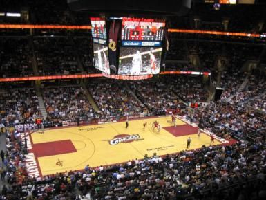 Quicken Loans Arena - (Courtesy of Cleveland CVB)