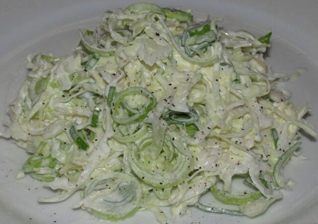 Salata od kupusa i poriluka | Recept