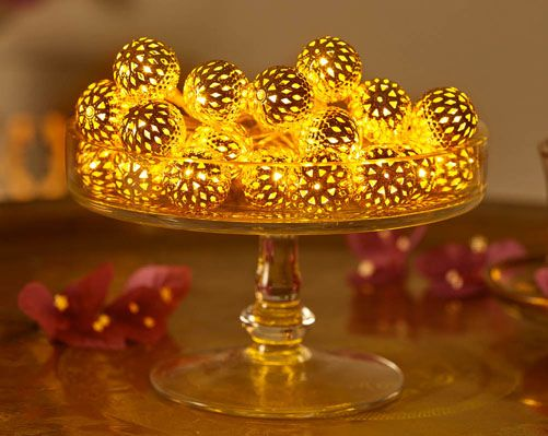 Moroccan Ball String Lights