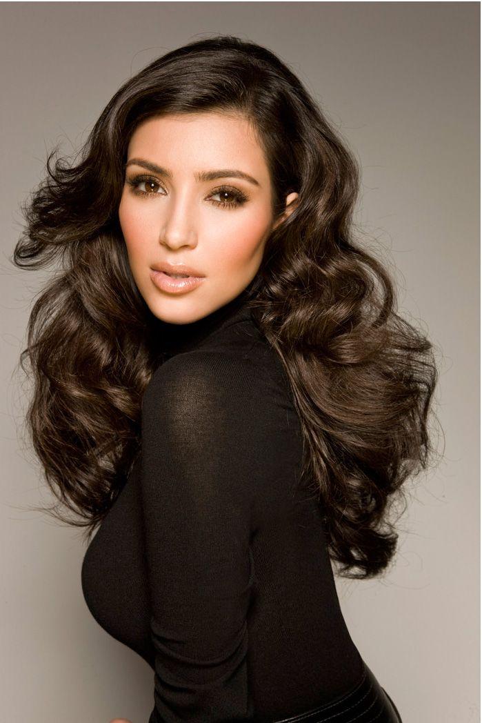 hair curls kim kardashian | Looks - Hair - Curls ...