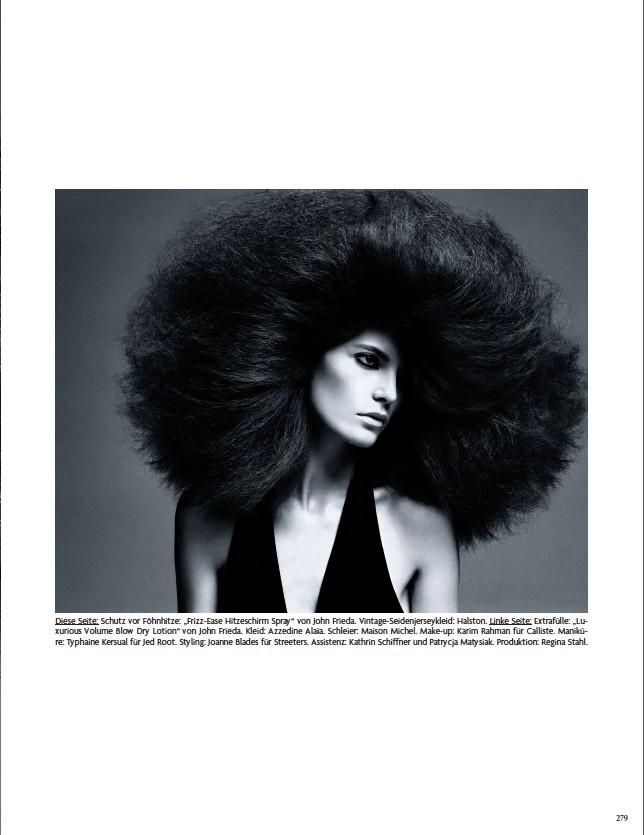 Hairy Tales by Luigi Murenu (Vogue Germany)