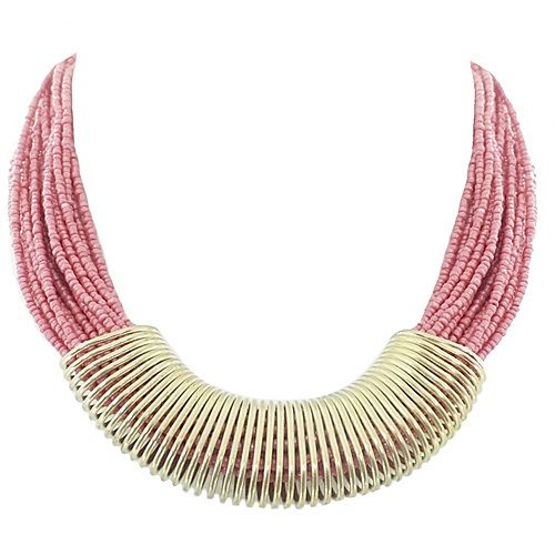Love this Coral & Gold necklace