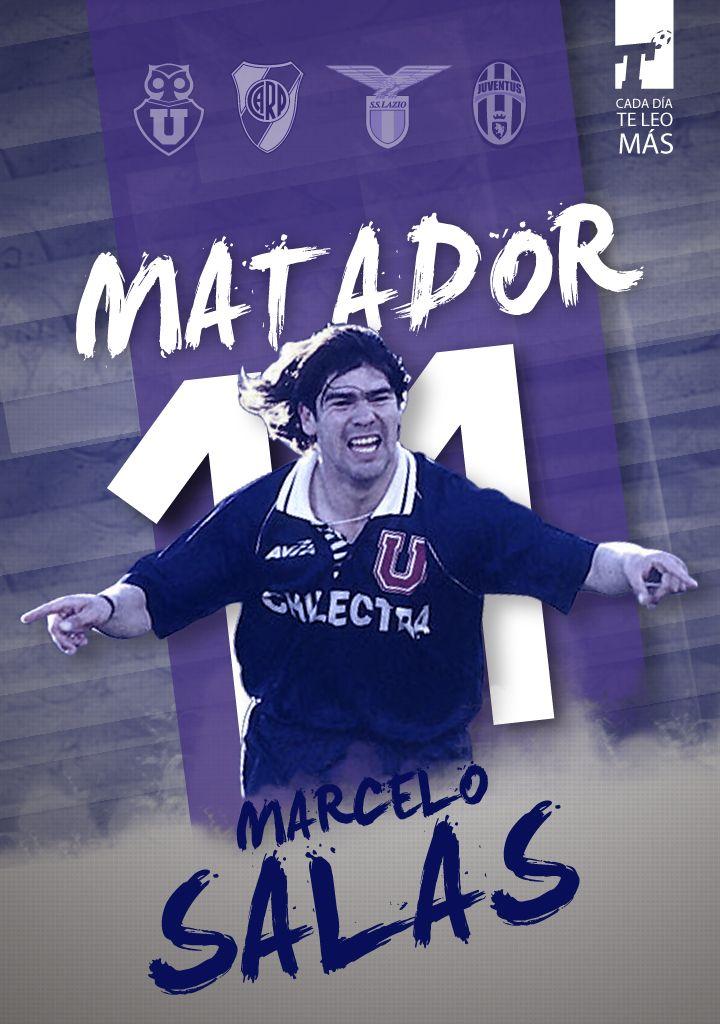 Hace 21 años Marcelo Salas le metió tres goles a Colo-Colo en un Superclásico y en ese momento nació El Matador! Abrazo e idolatría para el 11 de la #UdeChile, a quien extrañamos en la selección.  #MarceloEraTitular www.titular.cl