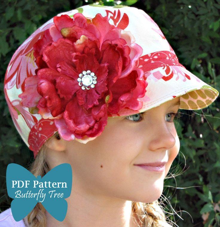 Newsboy Hat Sewing Pattern - Unisex Infant and Child Sizes - PDF. $5.95, via Etsy.