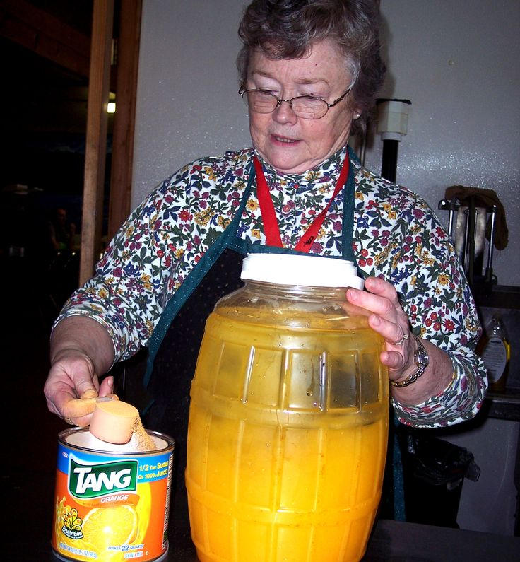 Include Tang powder in your food storage plans. It stores easily and is a great way to add vitamin C to your TEOTWAWKI diet when you're living on mostly dried grains from your food cache and meat from hunted game. Alaskan Bushmen and Iditarod racers use this to supplement their diets. Can be served hot or cold, and will help you fight off scurvy.