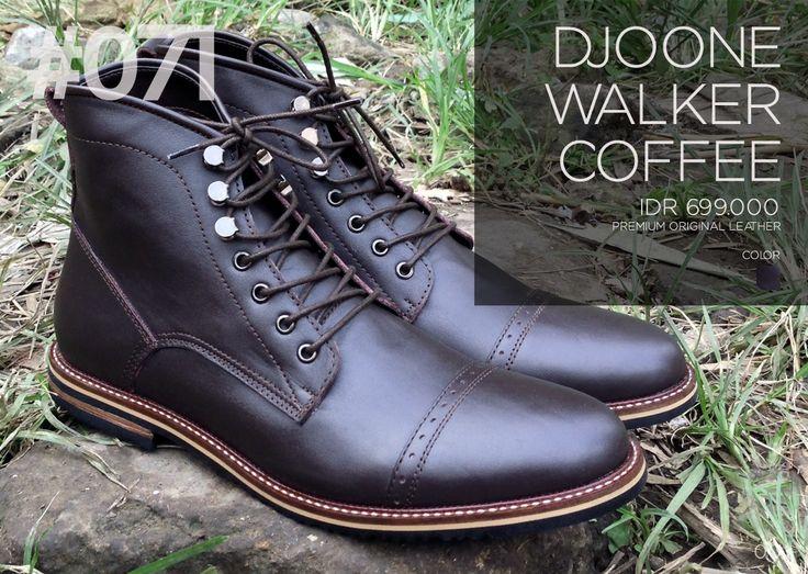 Men's Boots, 071 DJOONE Walker Coffee. Download: http://lookbook.djoone.com
