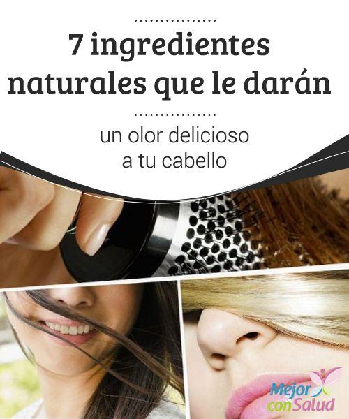 """7 ingredientes naturales que le darán un olor delicioso a tu cabello  Para lucir un cabello saludable y atractivo es importante darle una limpieza diaria y, de ser posible, proporcionarle nutrientes """"extra"""" a través mascarillas y productos hidratantes."""