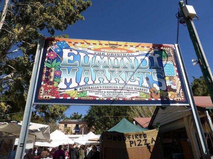 Eumundi Markets- easily the best market in Australia a Sunshine Coast QLD Australia