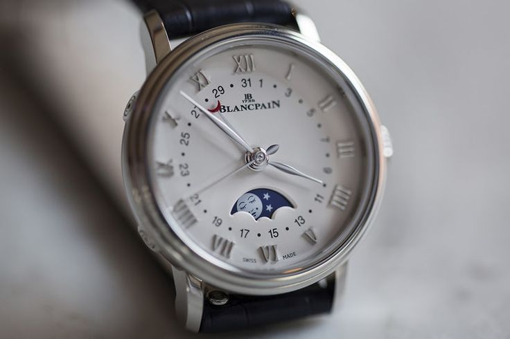 Hands-On: The Blancpain Villeret Date Moonphase Ladies' Watch