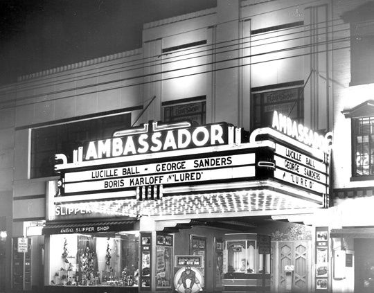 Ambassador Theatre, Raleigh, N. C.  http://cinematreasures.org/