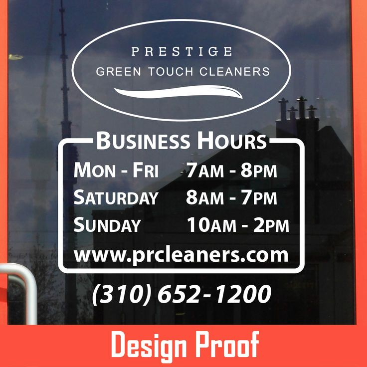Www bestautodecals com 100 custom vinyl lettering business open hour sticker
