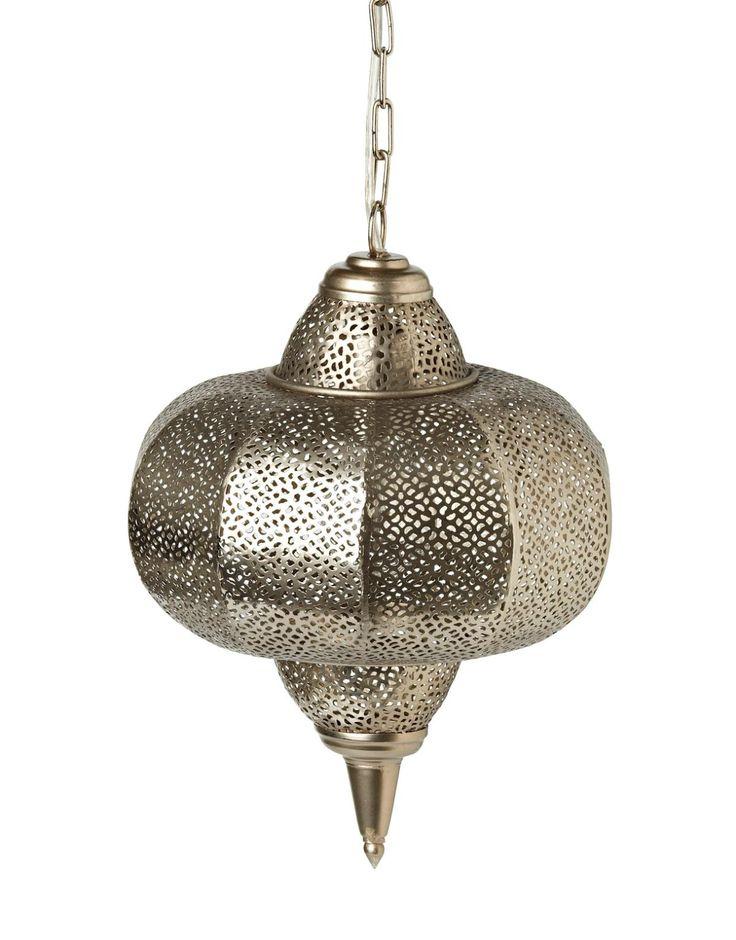 ADIB lampa silver | Electric lamps | Lampor | Inredning | INDISKA Shop Online