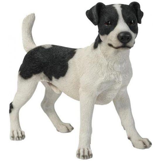 Tuin beeldje Jack Russel hondje zwart/wit 35 cm  Beeld Jack Russel terrier zwart/wit. Dit honden beeld is een Jack Russel en is gemaakt van polystone. Formaat ongeveer 35 x 40 x 19 cm. Geschikt voor binnen en buiten.  EUR 82.95  Meer informatie