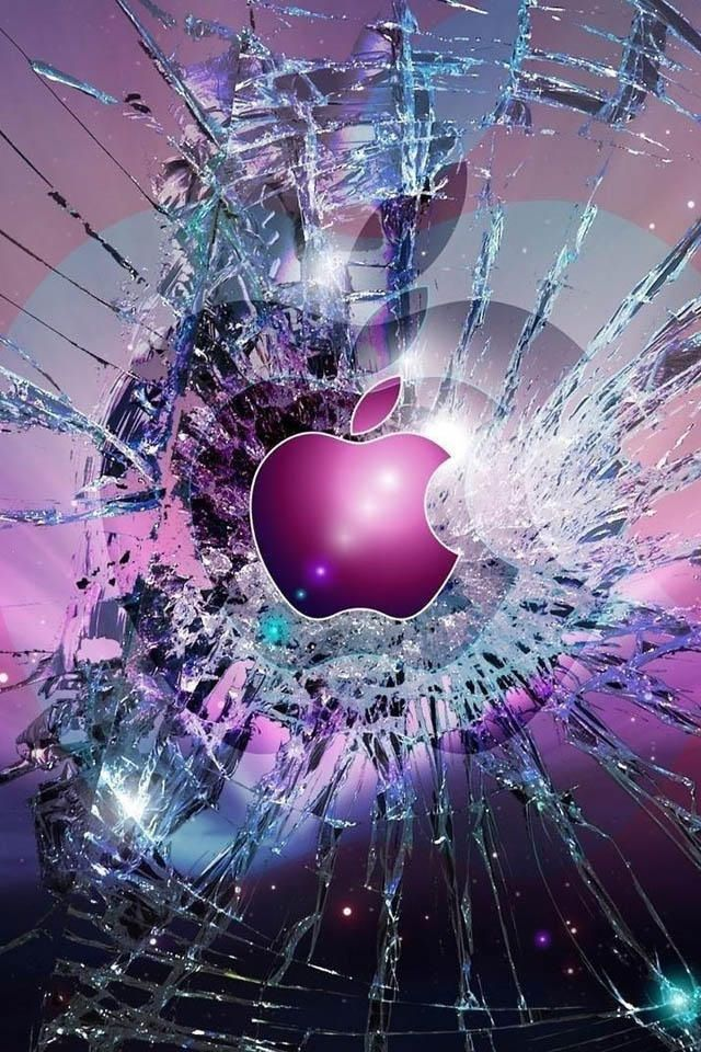 Apple Logo Wallpapers For IPhone 4 Set 7 Wallpaper 02 Backgrounds