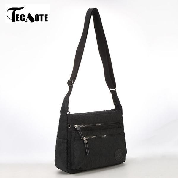 949c53f462f2 FuzWeb TEGAOTE Summer Beach Bag Girls Messenger Bags Handbags Women Famous  Nylon Crossbody Shoulder Bag