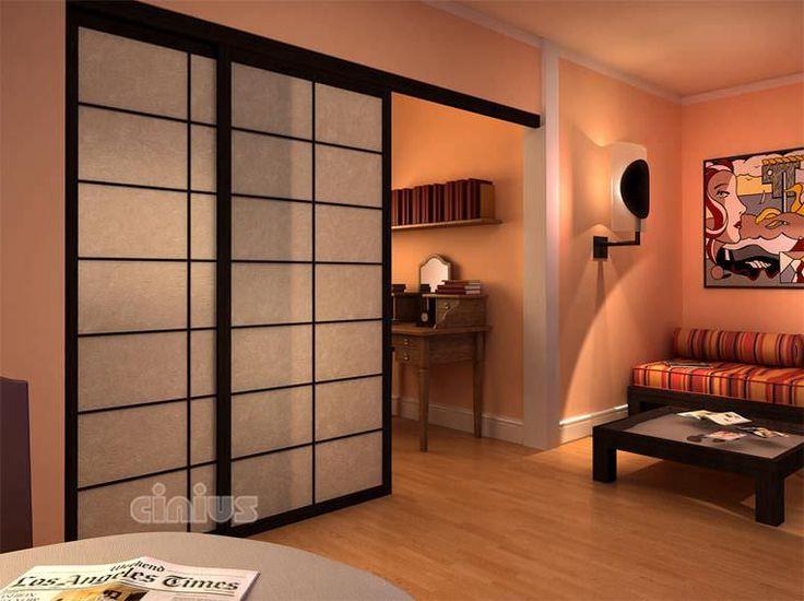 25 best ideas about shoji doors on pinterest shoji screen japanese room d - Parois japonaises coulissantes ...