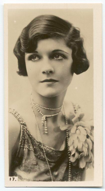 Vintage 1920s beautiful Woman.