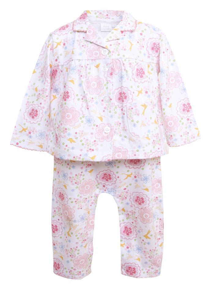 Baby Girl Gift Toddler PJ's - Pretty In Pink PJ's Girl 3-6mths - New Baby Gifts - pjsandprose.com
