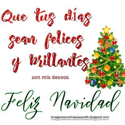 Deja que la navidad entre en tu corazón y dure todo el año ¡Feliz navidad!.   #Navidad #Postales