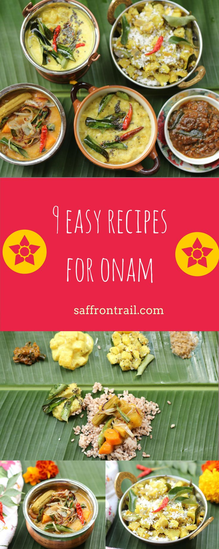 The Onam Sadya, that is a veritable spread of dishes from Kerala, is one of…