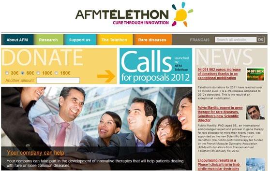 Restez informés toute l'année en vous inscrivant à notre newsletter !   http://www.afm-telethon.fr/newsletter/register