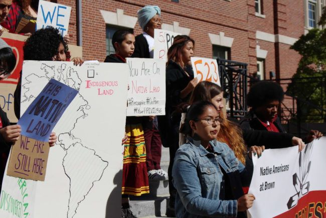 Brown University students enact change in their community in celebration of Indigenous People's Day. Rank Providence as a top prospect location to spend your college years!