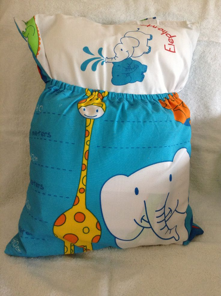 Elephant/Giraffe kindy sheets from Treasured Poppets