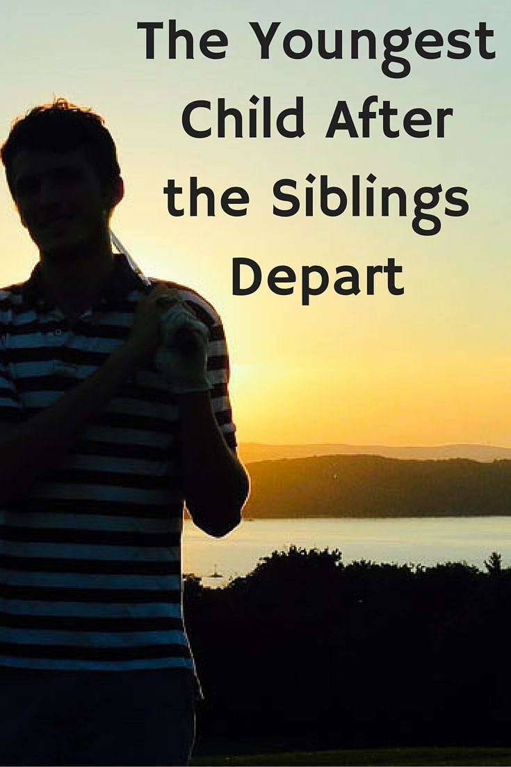 Life with the youngest after the older siblings have gone to college. Parenting Advice | College | Teens | Grown and Flown