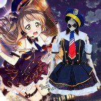 Love Live! Minami Kotori Japanese Cosplay Maid Costume Dress Girls Full Set New