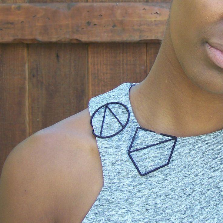 LessIS 3D printing jewels - LK011 and LK003 black nylon