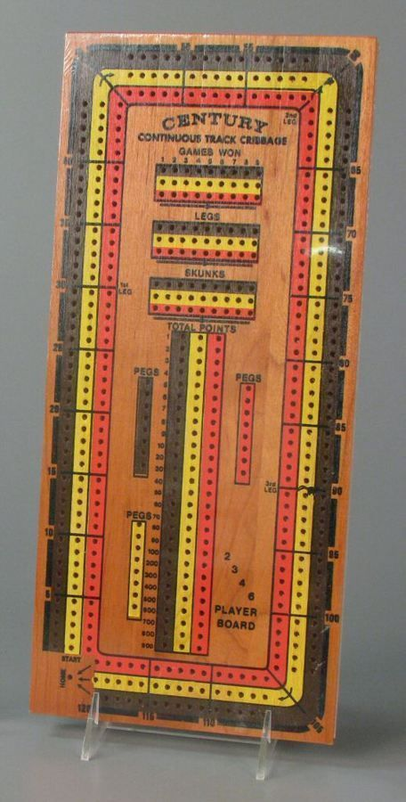 113.6155: Century Continuous Track Cribbage | cribbage board | Card Games | Games | Online Collections | The Strong