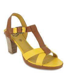 Sandale Jaune pour Femme - Kickers