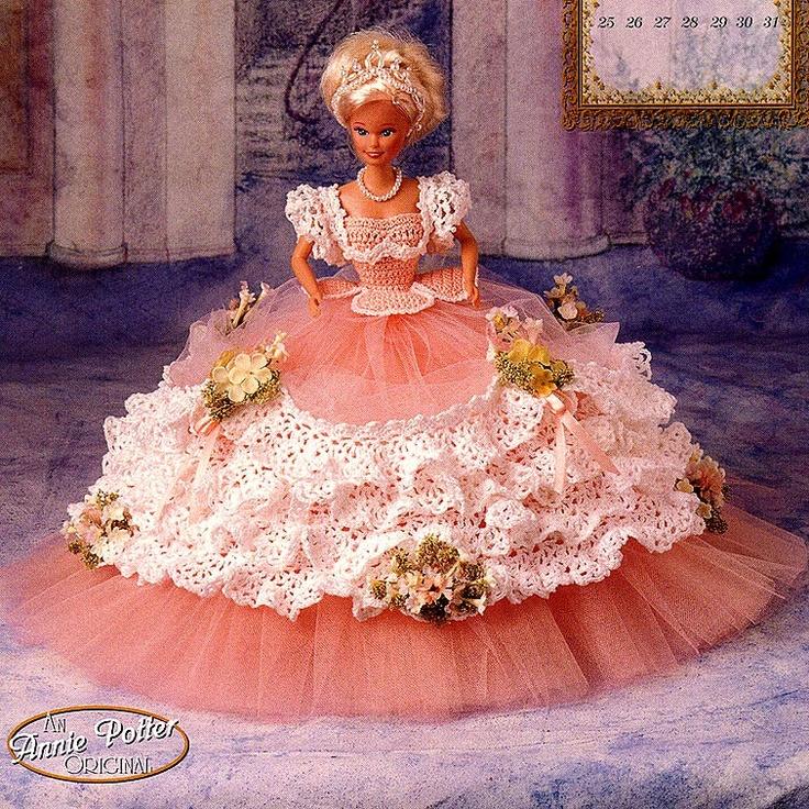 Annies Attic Royal Ballgowns Crochet Pattern Miss May