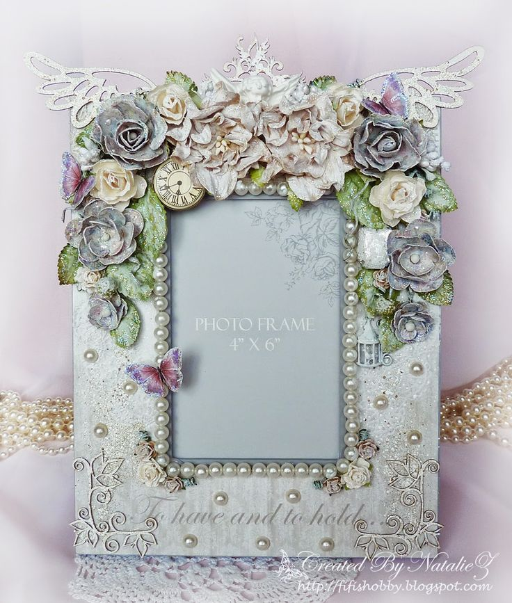 Shabby Chic Photo Frame