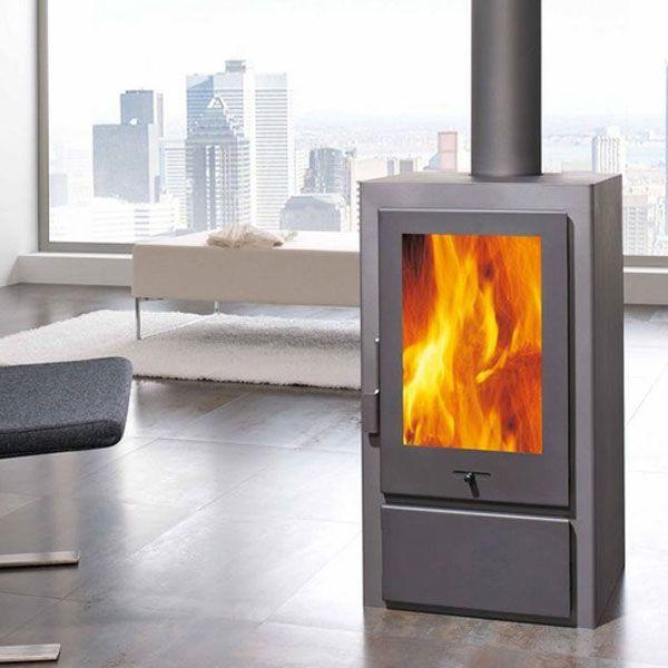 Panadero Artic - 6.5kw Contemporary Wood Burning Stove - £875.00