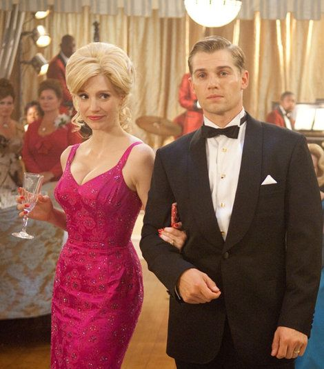 I love the dress that Celia Foot, aka Jessica Chastain wore in The Help