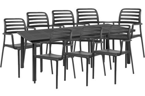 NARDI COSTA LIBECCIO 9 PIECE DINING SETTING OFRIDDS52