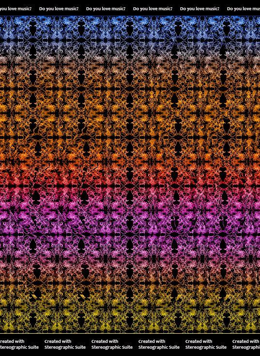 super kuka: Estereogramas - Imagens 3D
