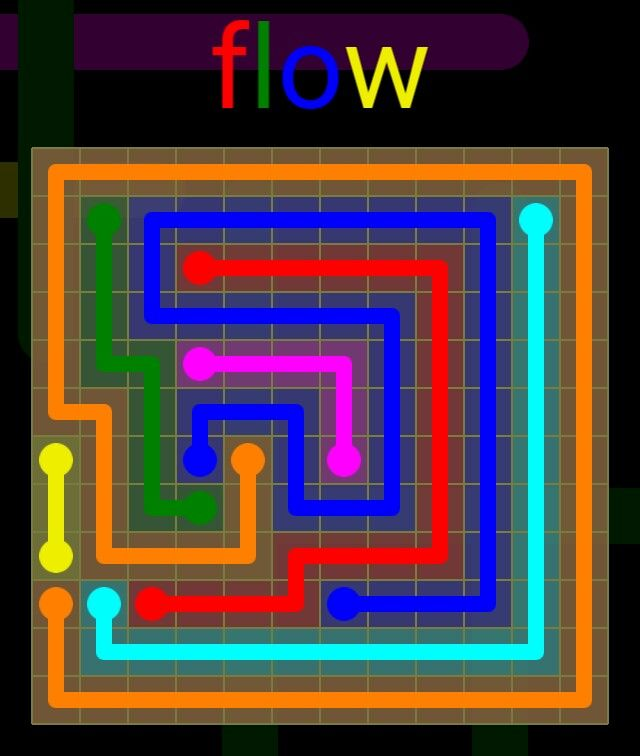Flow Extreme Pack 2 - 12x12 - level 18 solution