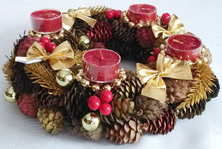 #Christmasdecoration  #wreath