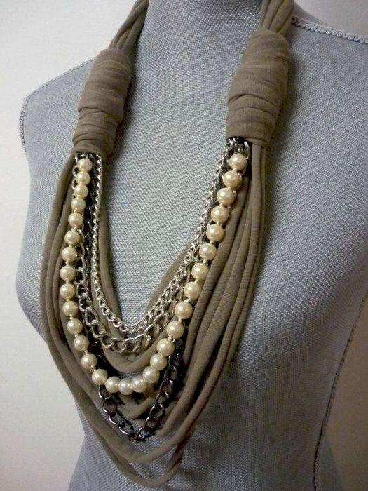 шарф-колье - Самое интересное в блогах