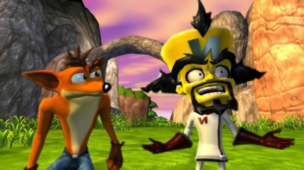 This is from my favorite Crash game... Crash Bandicoot Twinsanity, a must-have if you ask me ;)