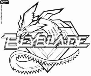 Omalov�nka Beyblade logo s drakem