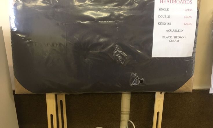 Used (NEW) Faux leather single headboard in CT9 Margate for £ 19.90 – Shpock