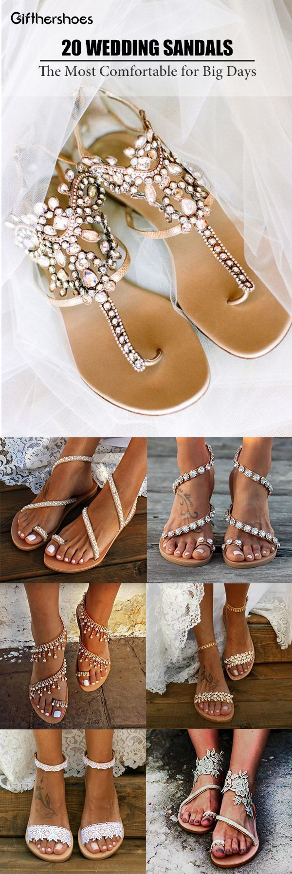 SHOP NOW>>20+ Comfy Wedding Bride Sandals Shoes Picks for Your Big Day.
