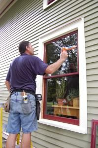 """Never, I repeat, NEVER replace historic wooden windows with new vinyl """"energy saving windows,"""" that's a load of BULL!  Get a good window restorer out to repair your windows, and add storm windows if you have none already.  Here are some more helpful tips.  Remember, wavy glass = (REALLY SUPER OLD NEARLY IRREPLACEABLE) antique glass.  Virtually priceless."""