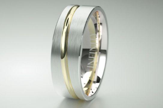 Trend spotting: This summer in the land of  mens rings it is all about selection. Every man is unique and finding a top quality  mens wedding ring or dress ring that suits your style is key. Design IN1305 is a novel piece that oozes individual charm, and comes in 8 different metal combinations. http://infinityrings.com.au