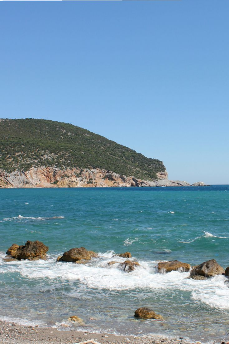 Loutraki, Skopelos island, Greece #ihavethisthingwithgreekbeaches #Greece
