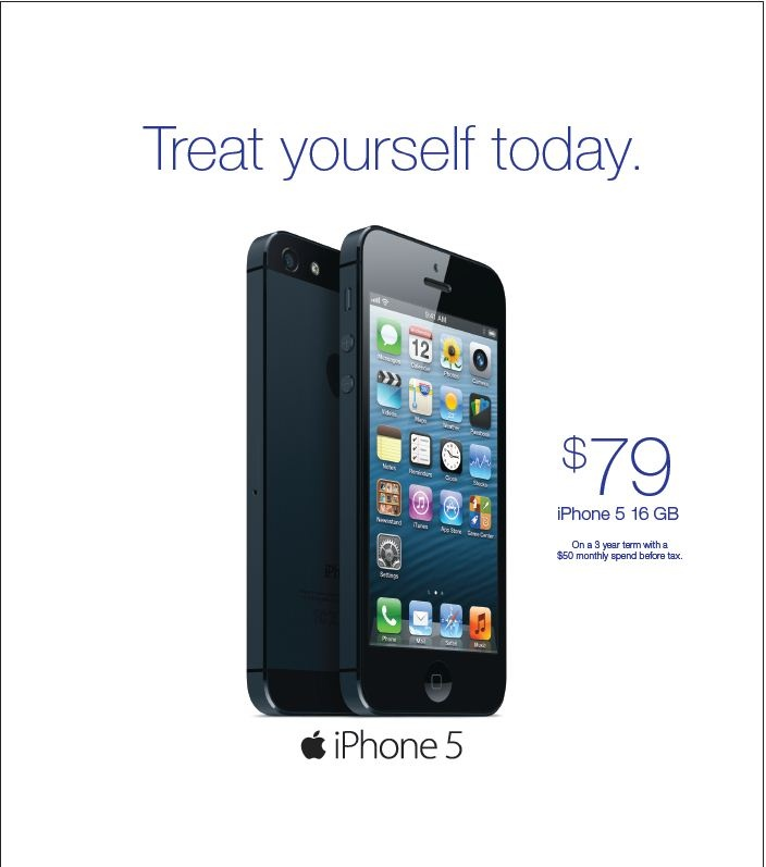 Iphone 5 Sale extended to December 31st