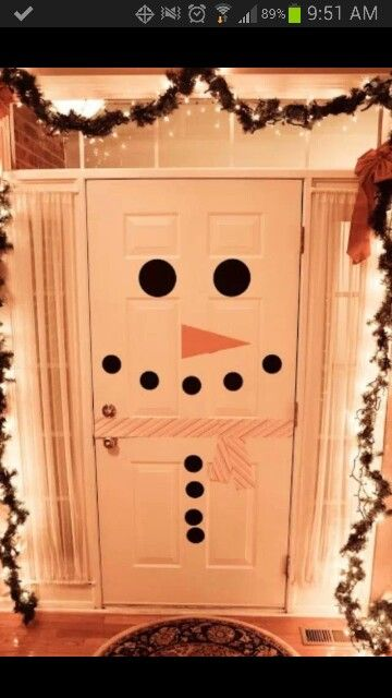 Cute door decoration ...